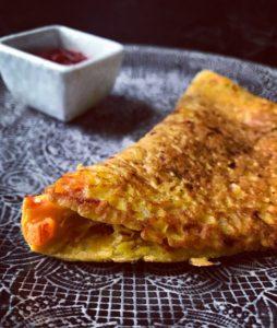 Vegan Masala Omelette