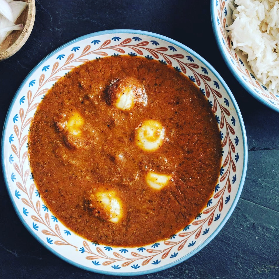 Maharashtrian Egg Curry is a great dish for a comfort meal at home - easy and delicious!