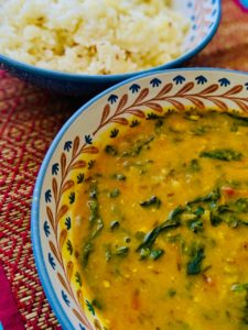 Methi Dal | Lentils and Fenugreek Stew