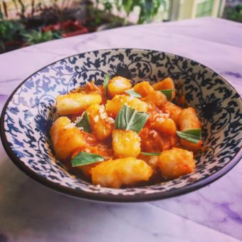 Pan Fried Potato Gnocchi